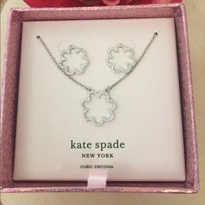 KATE SPADE ♠️ Jewelry Earrings and necklace 🆕